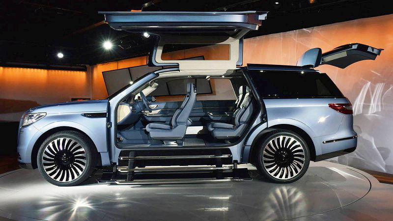 2018 Lincoln Navigator Blue For Sale Edition Back