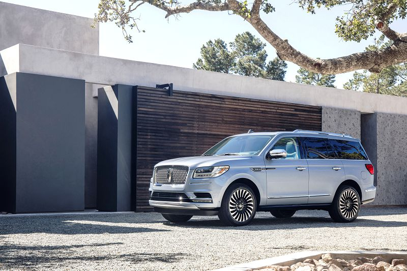 2018 Lincoln Navigator Interior Black Label Select L White