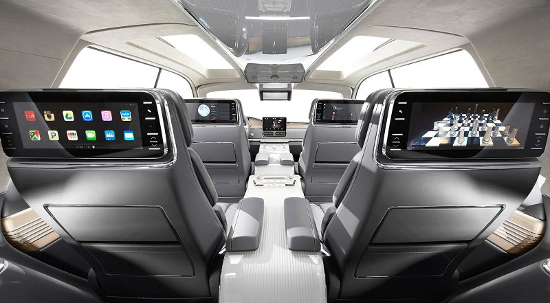 2018 Lincoln Navigator Loaded Front Seats Features Ford
