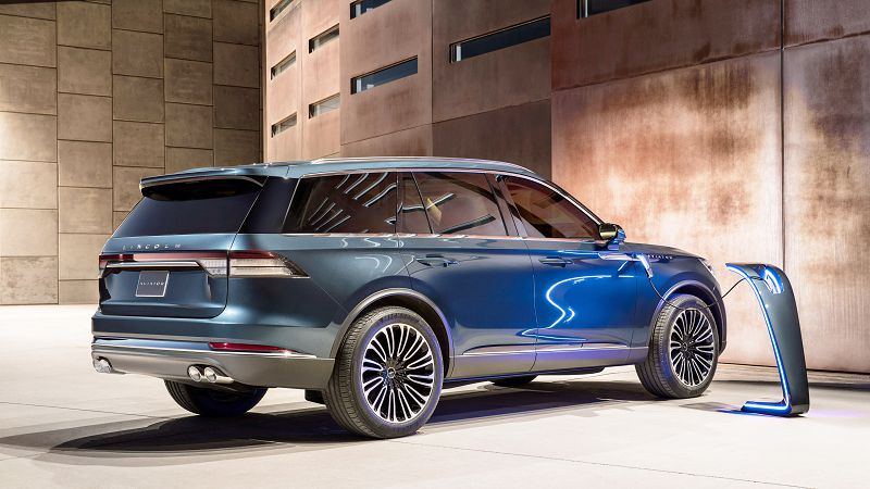 2019 Lincoln Aviator Blue Brush Guard Blend Door