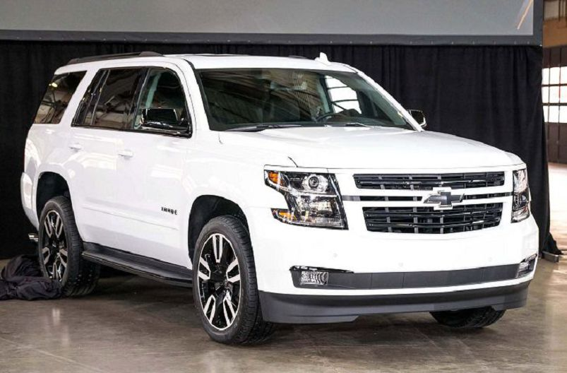 2020 Chevy Tahoe Roof Rack Red Running Boards - spirotours.com
