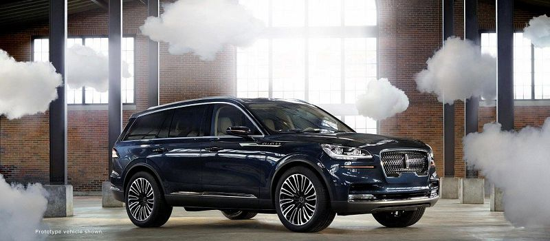 2020 Lincoln Aviator Red Replacement Suv