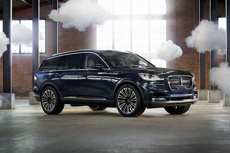 2020 Lincoln Aviator Shift Seats Spy Shots