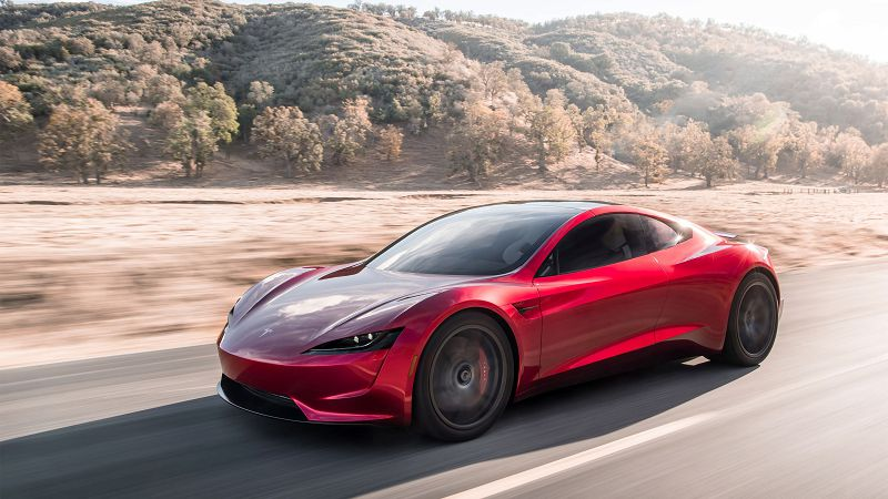 Tesla Roadster 100 Time Fastest Car Founders Concept