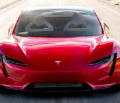 Tesla Roadster Steering Wheel Red Reservation Reveal
