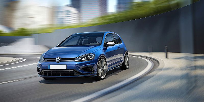 2020 Volkswagen Golf R Occasion Otomoto Club Pictures Purple Uae