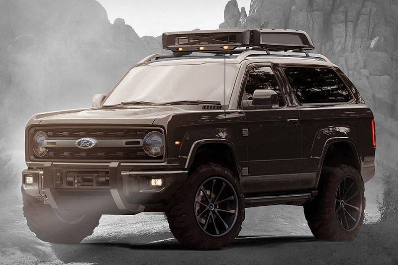 Bronco 2020 Door Raptor Spy Shots Msrp Concept