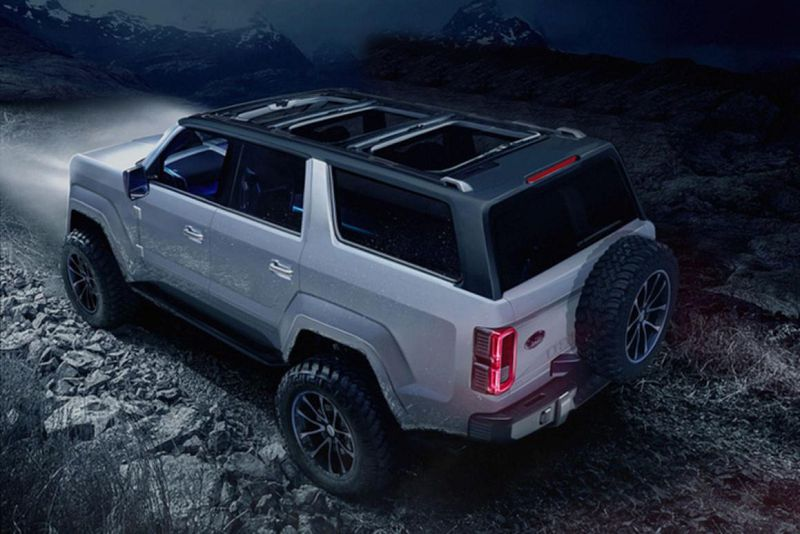 Ford Bronco 2018 Coming Come Xlt 11 2018 19