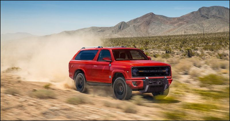 Ford Bronco 2020 2018 Msn Nouveau Nueva Official