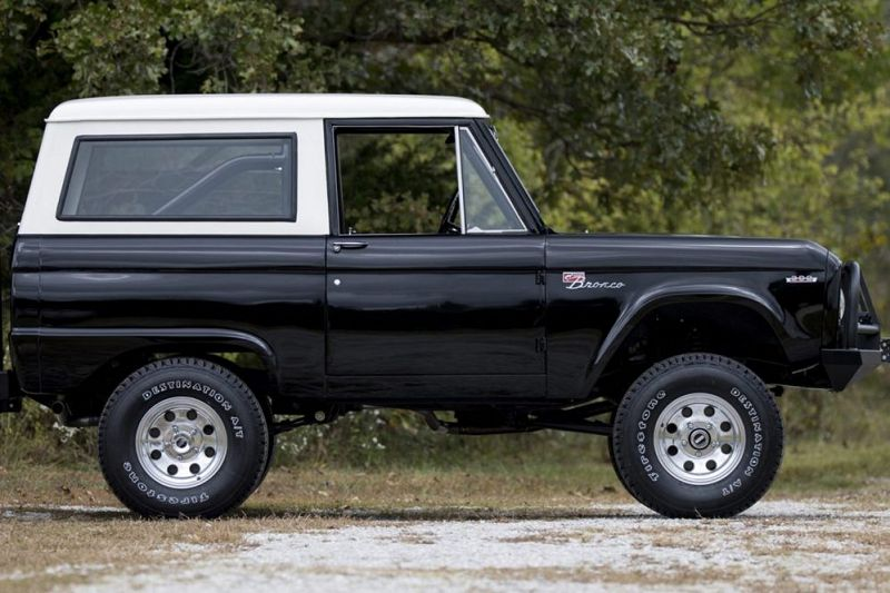 Ford Bronco Trend Mule Mini May Available