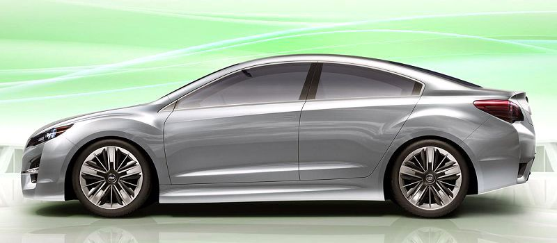 2020 Subaru Legacy Gt Concept Dashboard Dash