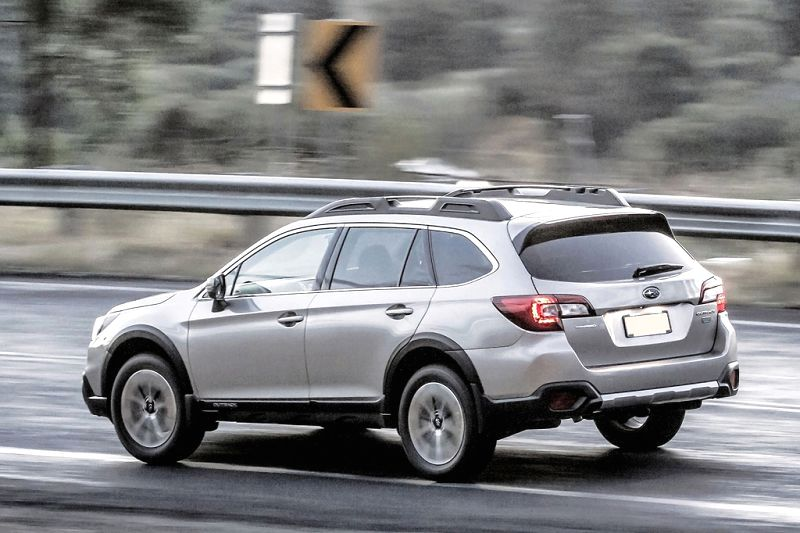 2020 Subaru Outback Global Platform New Generation