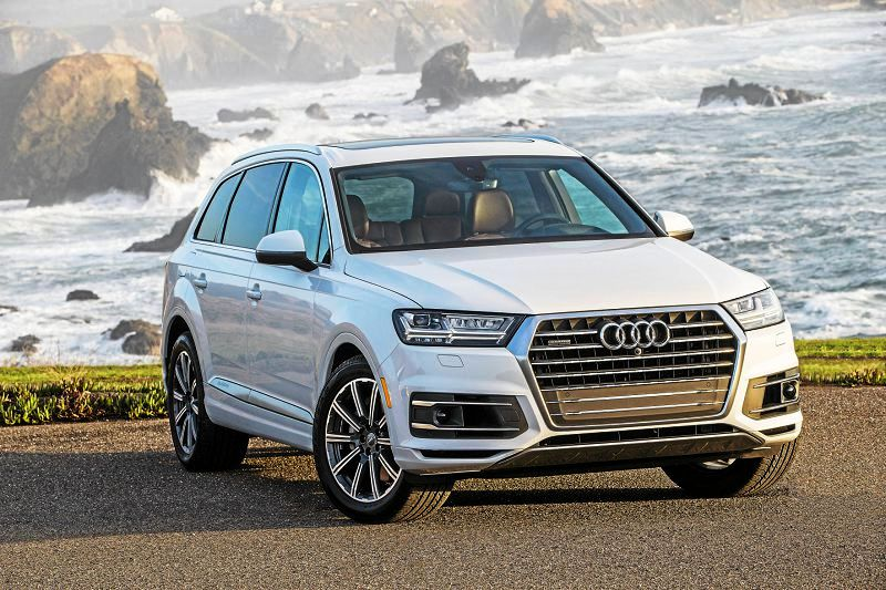 2018 Audi Q7 Exterior Colors Edmunds Oil Exhaust E Tron