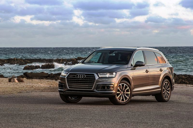 2018 Audi Q7 Floor Mats Argus Brown Adaptive Chassis