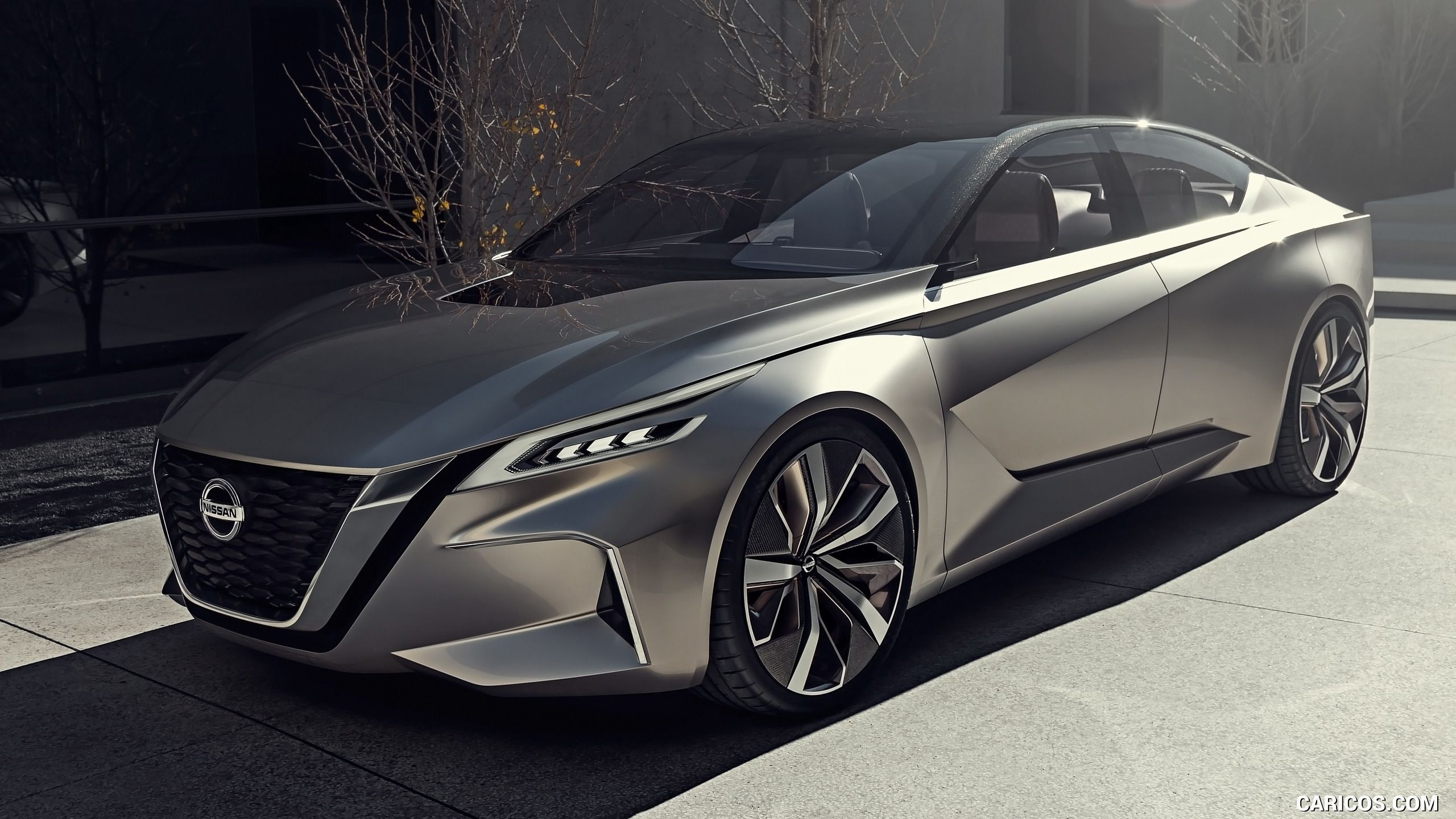 2020 Nissan Altima 2017 Nissan Vmotion 2 0 Concept Wallpaper Carros