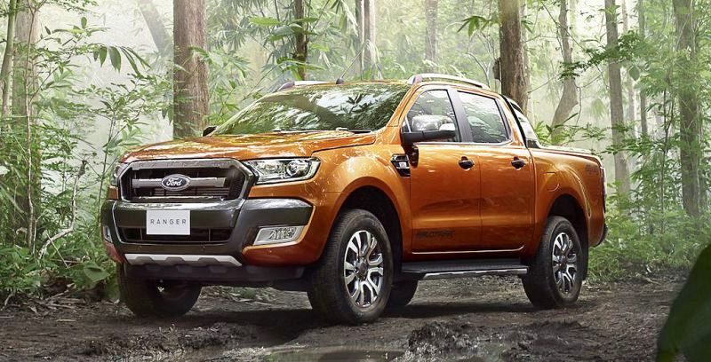 2020 Ford Ranger Global Chassis Px American 2.2 Grey