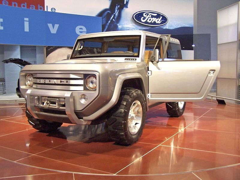 2021 Ford Bronco Top Off Prototype Photo Picture Philippines