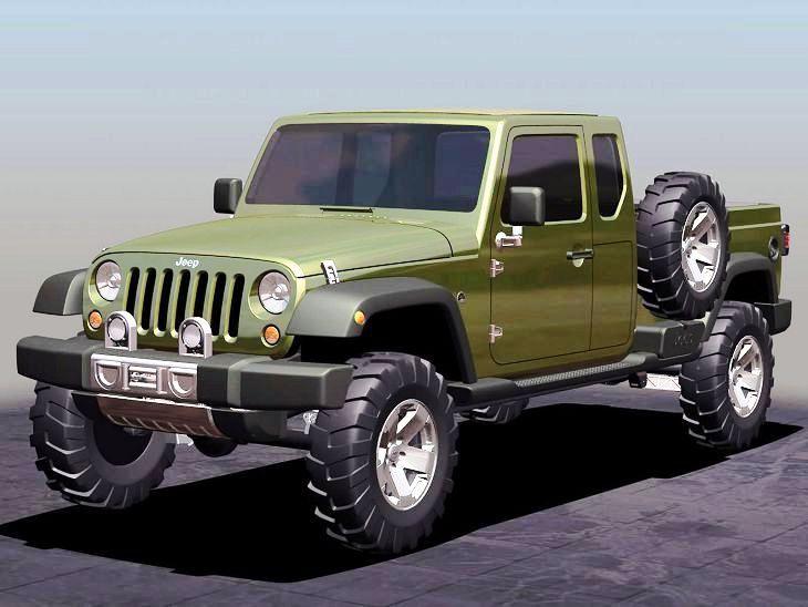 2017 Jeep Gladiator Interior