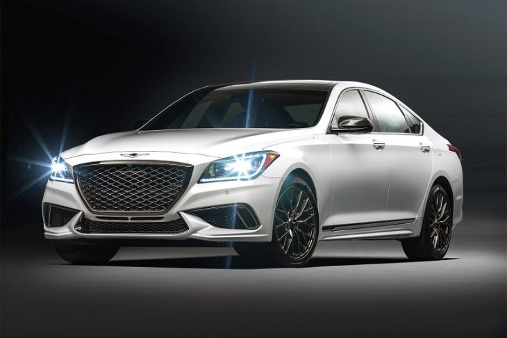 2020 Genesis G80 Coupe