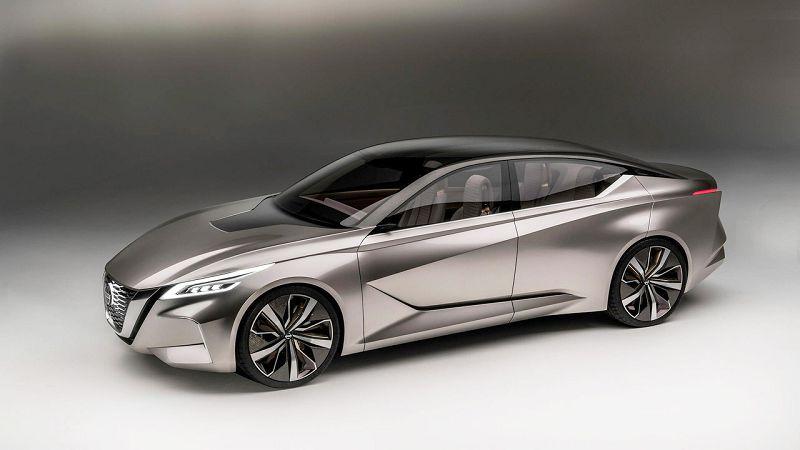 2020 Nissan Maxima Engine