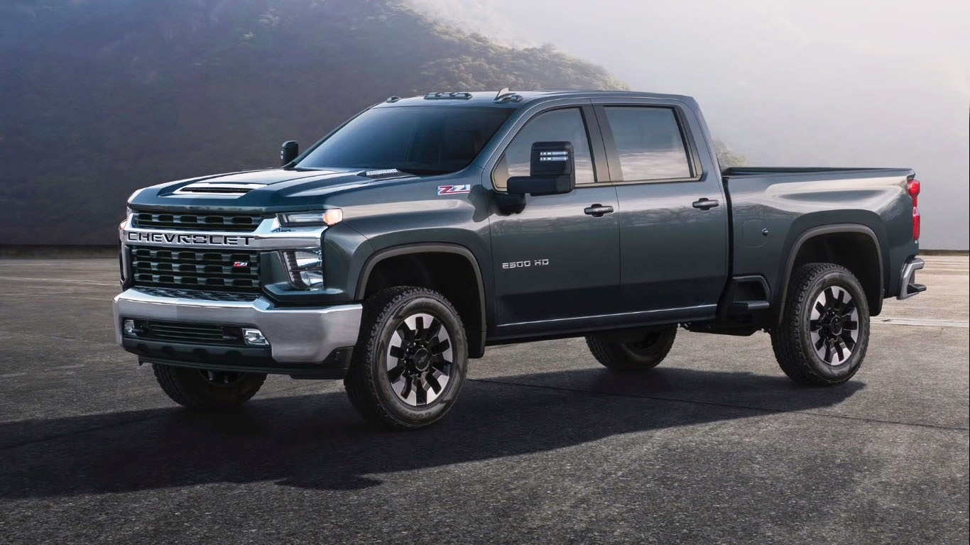 2020 Silverado Official Look