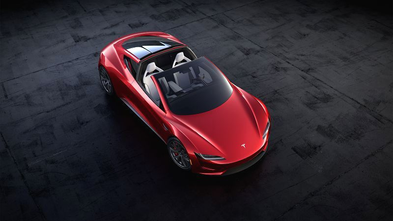 Tesla Roadster 2020 Price White