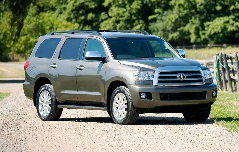 2020 Toyota Sequoia Trd Pro Suv Price Msrp News Model Grill