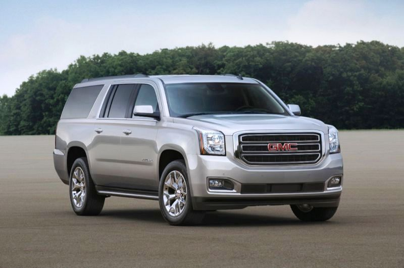 2018 Gmc Yukon Denali Blue 2020 Review Dimensions Towing Capacity Grill Specs