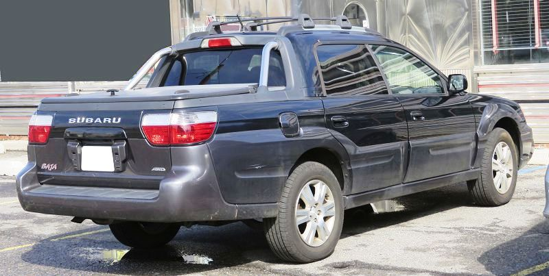 2020 Subaru Baja Pickup Truck 2022 Price Lifted Towing Capacity