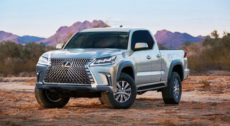 Lexus Pickup Truck 2021 Concept Photo Picture