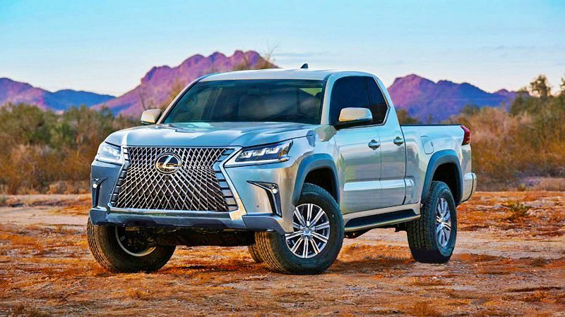 Lexus Pickup Truck 2021 Interior Concept Photo Picture