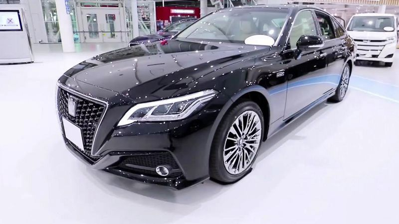 Toyota Crown Royal Saloon 2019 Price 2021 Engine Concept Release Date
