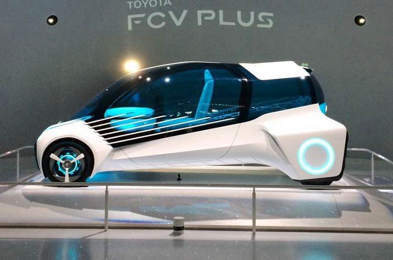 Toyota Fcv Plus Auto Expo 2021 Cost Engine Specs