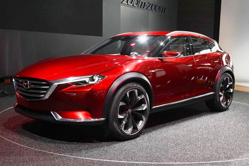 Mazda Koeru 2018 2019 Interior Crossover Spy Photos Price