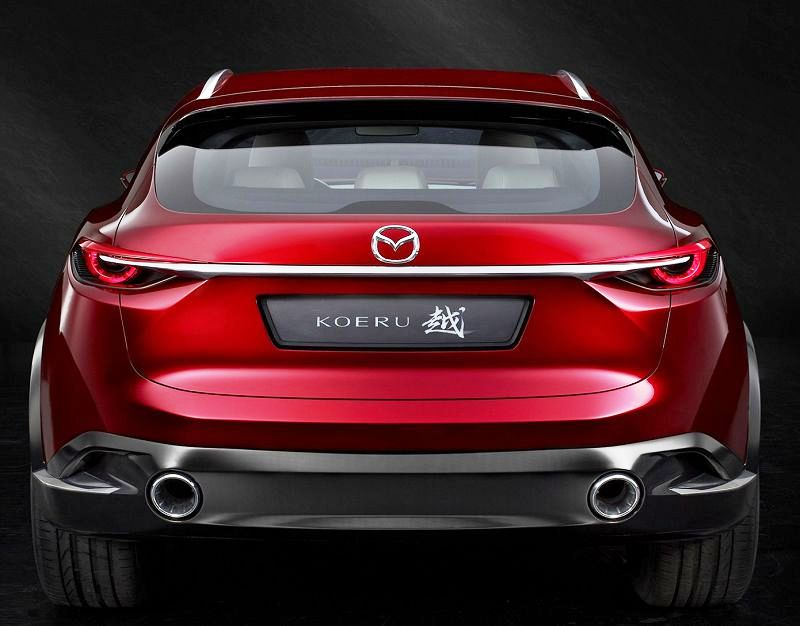 Mazda Koeru Concept 2019 Interior Crossover Spy Photos Price