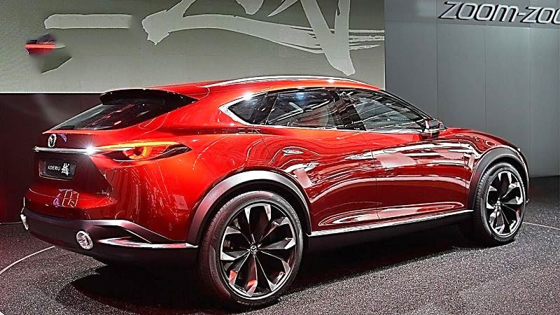 Mazda Koeru Concept Car 2019 Interior Crossover Spy Photos Price