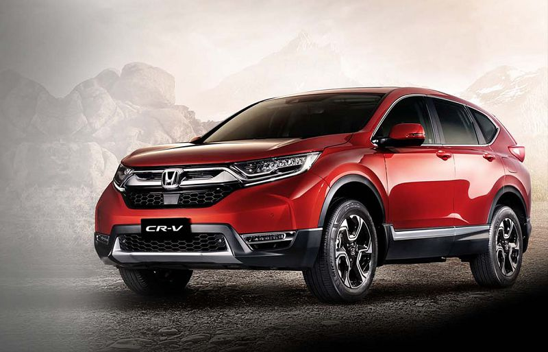 2020 Honda Cr V Pics Touring Awd Spy Shots Vs Toyota Spied