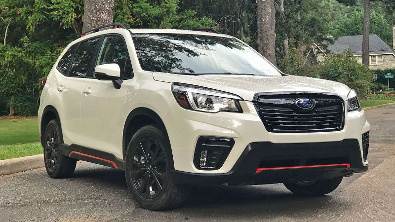 2020 Subaru Forester Sport Update Build Models E Boxer Sport Review