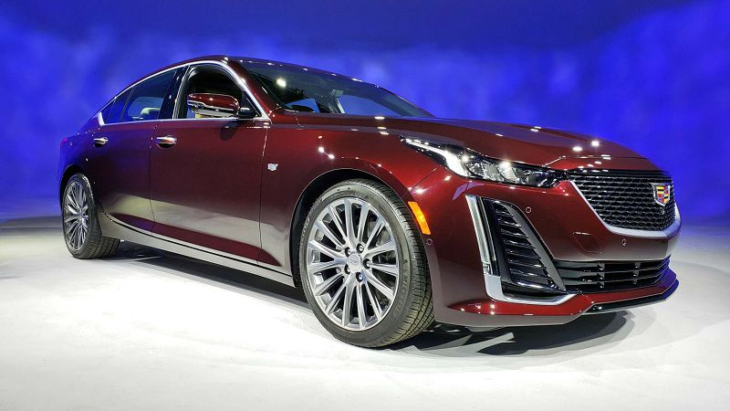 2020 Cadillac Ct5 Picture Of Sport