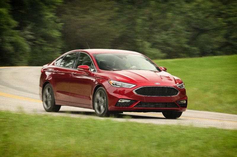 2020 Ford Fusion Hybrid Sport Titanium Energi Interior Plug In Hybrid Range Photos