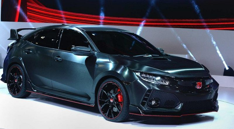 2020 Honda Civic Type R Hatchback Interior