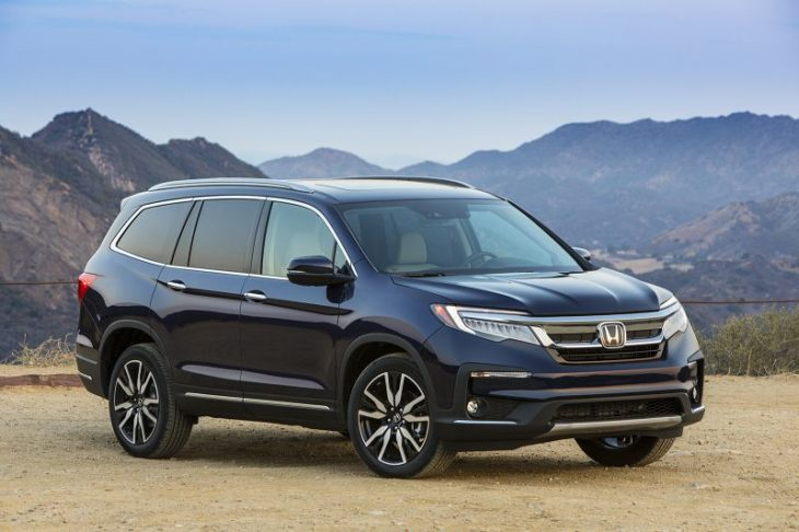 2020 Honda Pilot Colors Configurations Canada Cargo Space Crash Test