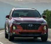 2020 Hyundai Santa Fe Interior Sel 2.4