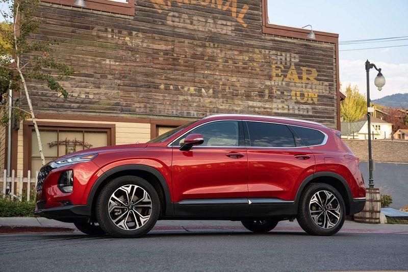 2020 Hyundai Santa Fe Pictures Hybrid