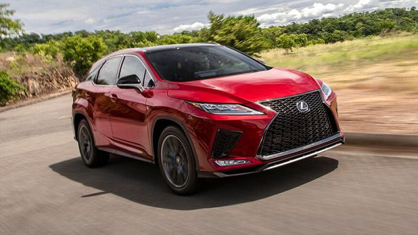 2020 Lexus Rx 350 Colors Photo