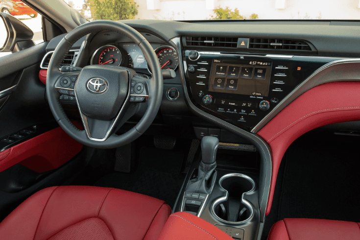 2020 Toyota Camry Trd Awd Hybrid Awd The Trd The New Black Brochure