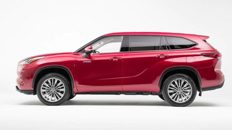 2020 Toyota Highlander Blueprint Color Body Style Change Buy Body Hybrid Platinum