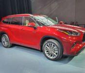 2020 Toyota Highlander Dealership Details Detroit Auto Show Exterior Colors Engine