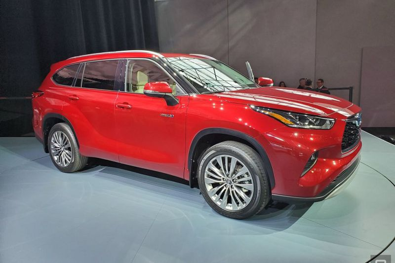 2020 Toyota Highlander Dealership Details Detroit Auto Show Exterior Colors Engine