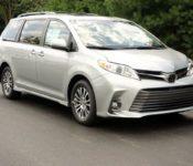 2020 Toyota Sienna Se Minivan Changes
